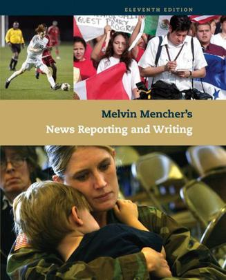 news writing and reporting books on tape