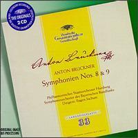 Bruckner: Symphony No8, WAB108; Symphony No9, WAB109