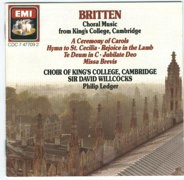 Choral Music from King's College, Cambridge