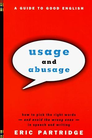 Usage and Abusage