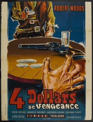 Cuatro dólares de venganza 1966