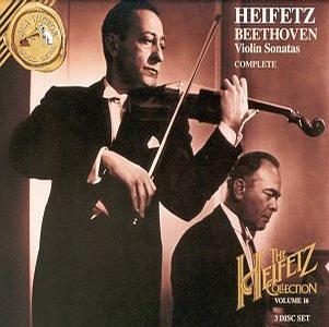 Heifetz Collection: Beethoven Violin Sonatas