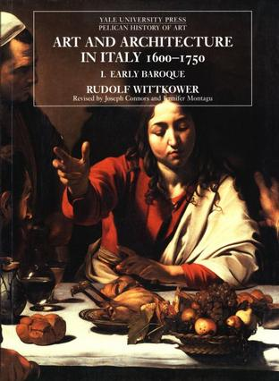 Art and Architecture in Italy, 1600–1750