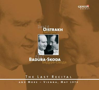 The Last Recital - David Oistrakh