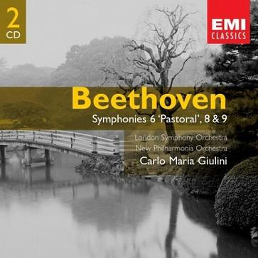 Beethoven: Symphonies 6, 8 & 9; Carlo Maria Giulini; London Symphony Orchestra