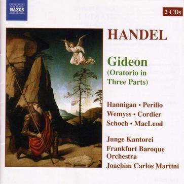 Handel - Gideon (Oratorio in Three Parts) / Junge Kantorei, FBO, J.C. Martini