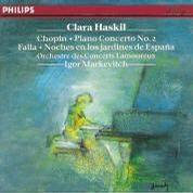 Clara Haskil - Chopin: Piano Concerto No. 2; Falla: Noches en los Jardines de Espana