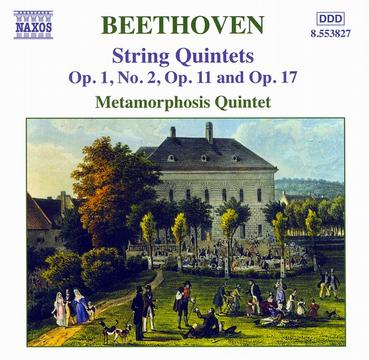 BEETHOVEN: String Quintets, Opp. 1, 11 and 17(Transcriptions by Carl Khym)