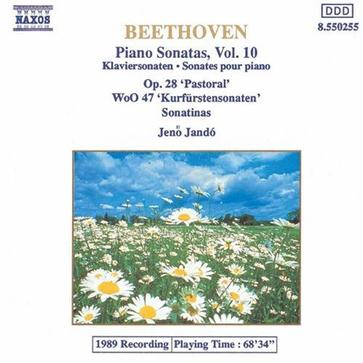 Beethoven: Piano Sonatas, Volume 10