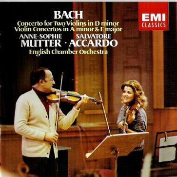 进口\:巴赫\:双小提琴协奏曲(穆特和阿卡多)(7 47005 2)()