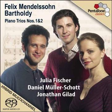 Mendelssohn: Piano Trios Nos. 1 & 2 [Hybrid SACD]