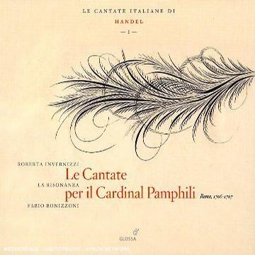 Handel - Cantatas for Cardinal Pamphili (La Risonanza)
