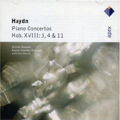 进口CD:海顿:第3,4,11号钢琴协奏曲(5 56960 2 1)