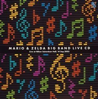 Mario & Zelda Big Band Live CD
