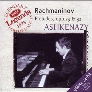 S. Rachmaninov - V. Ashkenazy - Preludes, opp. 23 & 32