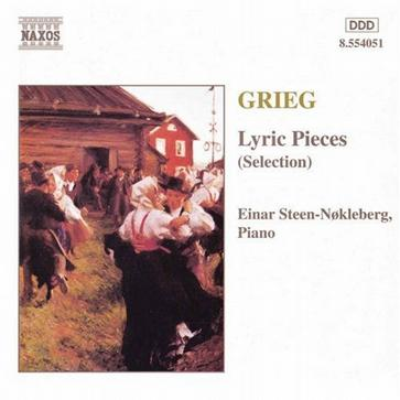 Edvard Grieg: Lyric Pieces (Selections)