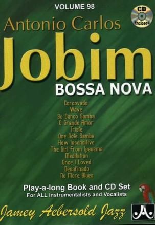 Jamey Aebersold Jazz:/CD and Book Antonio Carlos Jobim (Bossa Nova)