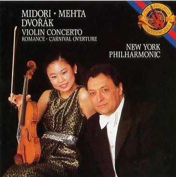 """Dvořák: Violin concerto, Romance,""""Carnival"""" Overture"""