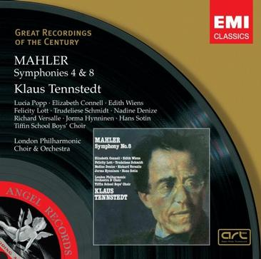 Mahler: Symphonies #4 & 8 'Symphony of a Thousand' - Klaus Tennstedt, London Philharmonic Orchestra & Choir