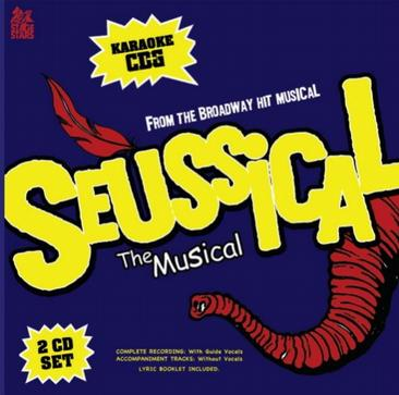 Sing The Broadway Musical SEUSSICAL (2-Disc Karaoke CDG)