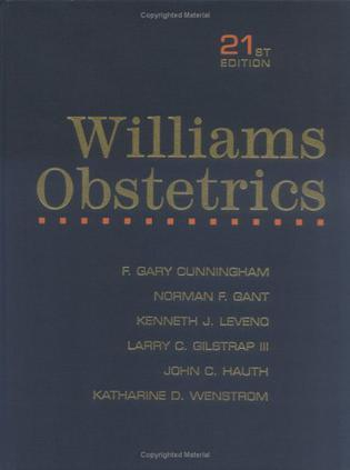 Williams Obstetrics Textbook and Study Guide, 21/e