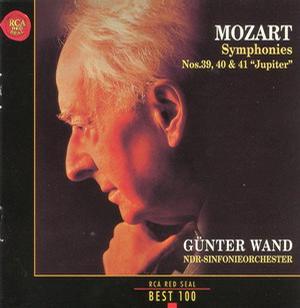 "Günter Wand:Symphonies Nos. 39, 40&41 "" Jupiter """