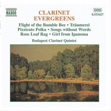Clarinet Evergreens [CD on Demand]