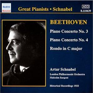 Beethoven-Piano Concertos Nos. 3 & 4; Rondo in C Major
