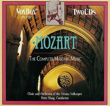 Mozart: The Complete Masonic Music
