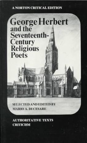 George Herbert and the seventeenth-century Religious Poets