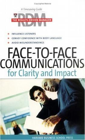 FACE-TO-FACE COMMUNICATIONS