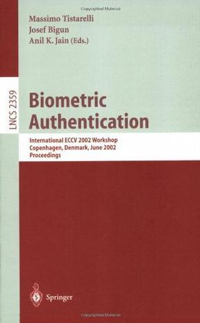 生物辨识技术/会议录 Biometric authentication