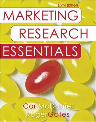 Marketing Research Essentials, with SPSS