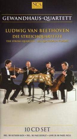 BEETHOVEN - The String Quartets - Gewandhaus-Quartett 10CD Set