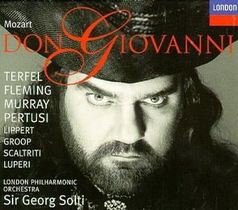 Mozart - Don Giovanni / Terfel · Fleming · Murray · Pertusi · Lippert · Groop · Scaltriti · Luperi · LPO · Solti