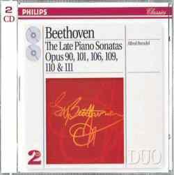 进口CD:贝多芬:晚期钢琴奏鸣曲(布伦德尔演奏)(438 374-2)
