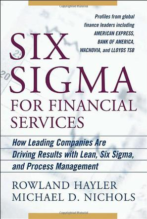 Six Sigma for Financial Services