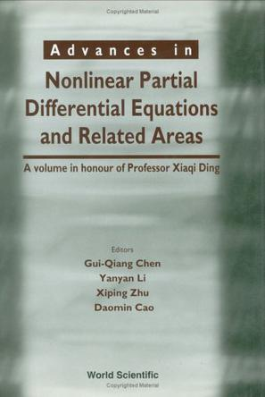 Advances In Nonlinear Partial Differential Equations And Related Areas
