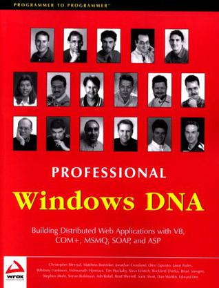 Professional Windows DNA
