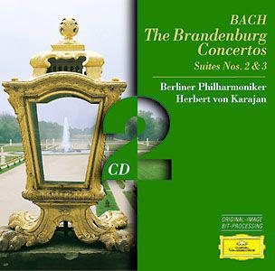 J.S.Bach:The Brandenburg Concertos Suites2&3
