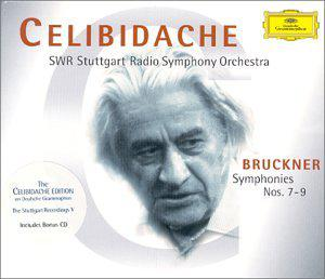Anton Bruckner: Symphonies Nos. 7-9 / Franz Schubert: Symphony No. 5 - The Celibidache Edition