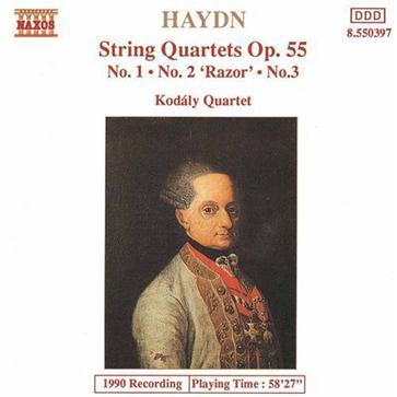 Haydn: String Quartets, Op. 55, Nos. 1-3