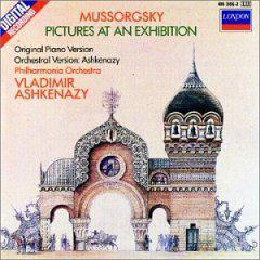 进口:展览会上的图画(钢琴版和管弦乐版)(414 386-2)