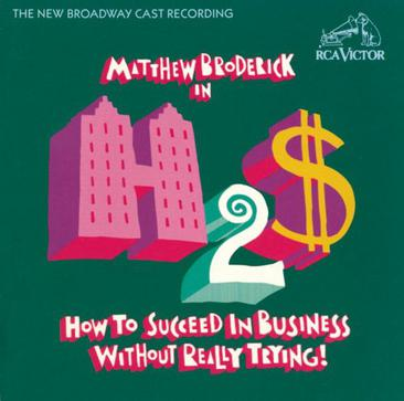 "Matthew Broderick in ""How to Succeed in Business WIthout Really Trying!"""