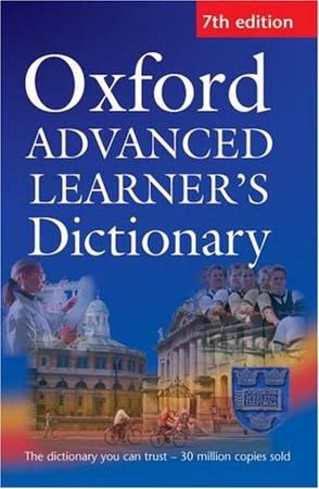 Oxford ADVANCED LEARNER S Dictionary 7th edition