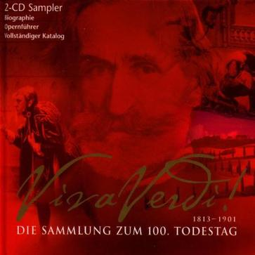 Viva Verdi! -  A 100th Anniversary Celebration Sampler ~ Carreras / Caballe,etc.