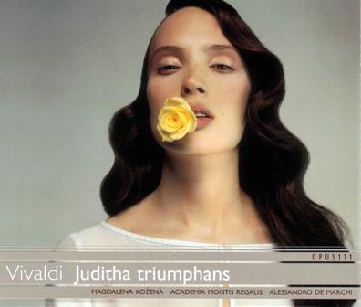 Vivaldi:  Juditha Triumphans (Vivaldi Edition)