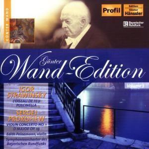 STRAVINSKY, I.: Firebird Suite / Pulcinella Suite / PROKOFIEV, S.: Violin Concerto No. 1 (Wand Edition, Vol. 3)