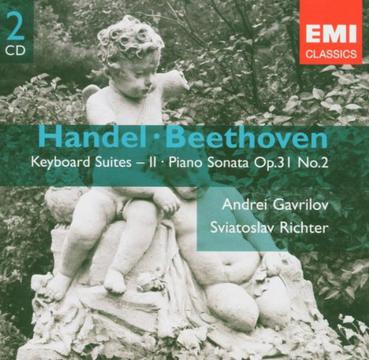 Handel / Beethoven: Keyboard Suites II / Piano Sonata, Op.31, No.2