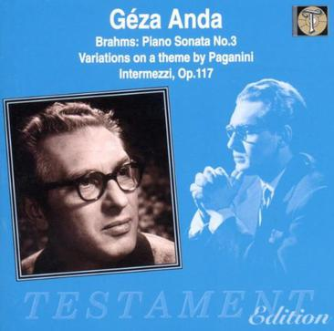 Geza Anda Plays Brahms